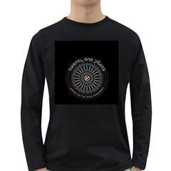 Twenty One Pilots Long Sleeve Dark T Shirts by Onesevenart