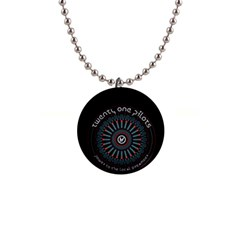 Twenty One Pilots Button Necklaces by Onesevenart