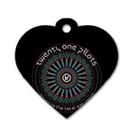 Twenty One Pilots Dog Tag Heart (One Side)