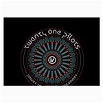 Twenty One Pilots Large Glasses Cloth