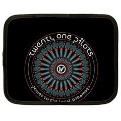 Twenty One Pilots Netbook Case (large) by Onesevenart