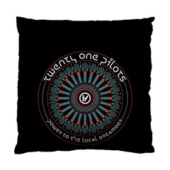 Twenty One Pilots Standard Cushion Case (one Side) by Onesevenart