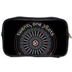 Twenty One Pilots Toiletries Bags 2 Side by Onesevenart
