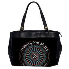 Twenty One Pilots Office Handbags (2 Sides)  by Onesevenart