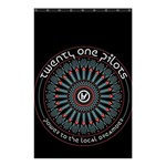 Twenty One Pilots Shower Curtain 48  x 72  (Small)