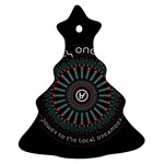 Twenty One Pilots Christmas Tree Ornament (2 Sides)