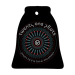 Twenty One Pilots Bell Ornament (2 Sides)