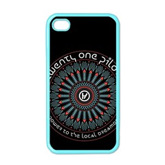 Twenty One Pilots Apple Iphone 4 Case (color) by Onesevenart
