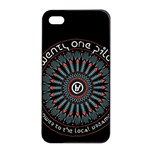 Twenty One Pilots Apple iPhone 4/4s Seamless Case (Black)