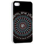 Twenty One Pilots Apple iPhone 4/4s Seamless Case (White)