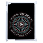 Twenty One Pilots Apple iPad 2 Case (White)