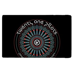 Twenty One Pilots Apple Ipad 3/4 Flip Case by Onesevenart