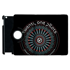 Twenty One Pilots Apple Ipad 3/4 Flip 360 Case by Onesevenart