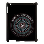 Twenty One Pilots Apple iPad 3/4 Case (Black)