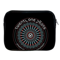 Twenty One Pilots Apple Ipad 2/3/4 Zipper Cases by Onesevenart