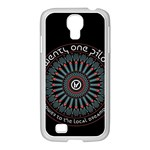 Twenty One Pilots Samsung GALAXY S4 I9500/ I9505 Case (White)