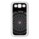 Twenty One Pilots Samsung Galaxy S3 Back Case (White)