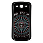 Twenty One Pilots Samsung Galaxy S3 Back Case (Black)