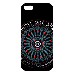 Twenty One Pilots Iphone 5s/ Se Premium Hardshell Case by Onesevenart