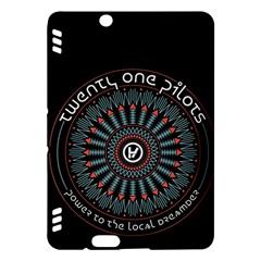 Twenty One Pilots Kindle Fire Hdx Hardshell Case by Onesevenart