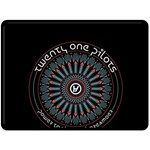 Twenty One Pilots Double Sided Fleece Blanket (Large)
