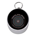 Twenty One Pilots Mini Silver Compasses