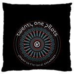 Twenty One Pilots Large Flano Cushion Case (Two Sides)
