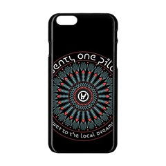 Twenty One Pilots Apple Iphone 6/6s Black Enamel Case by Onesevenart