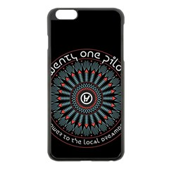 Twenty One Pilots Apple Iphone 6 Plus/6s Plus Black Enamel Case by Onesevenart