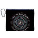 Twenty One Pilots Canvas Cosmetic Bag (XL)