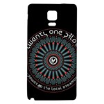 Twenty One Pilots Galaxy Note 4 Back Case