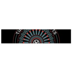 Twenty One Pilots Flano Scarf (small) by Onesevenart
