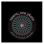 Twenty One Pilots Large Satin Scarf (Square)