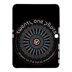 Twenty One Pilots Samsung Galaxy Tab 4 (10.1 ) Hardshell Case  by Onesevenart