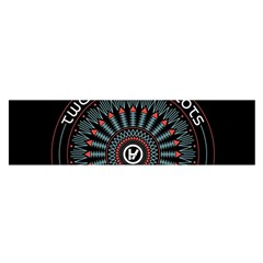 Twenty One Pilots Satin Scarf (oblong) by Onesevenart