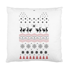 Ugly Christmas Humping Standard Cushion Case (one Side) by Onesevenart