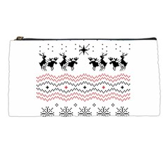 Ugly Christmas Humping Pencil Cases by Onesevenart
