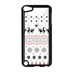 Ugly Christmas Humping Apple Ipod Touch 5 Case (black) by Onesevenart