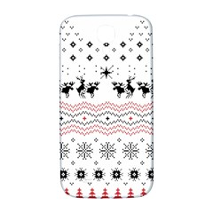 Ugly Christmas Humping Samsung Galaxy S4 I9500/i9505  Hardshell Back Case by Onesevenart