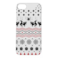 Ugly Christmas Humping Apple Iphone 5s/ Se Hardshell Case by Onesevenart