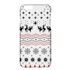 Ugly Christmas Humping Apple Iphone 6 Plus/6s Plus Hardshell Case by Onesevenart