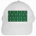 Ugly Christmas White Cap