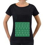 Ugly Christmas Women s Loose-Fit T-Shirt (Black)