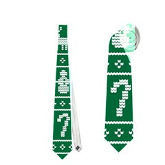 Ugly Christmas Neckties (two Side)  by Onesevenart
