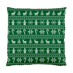 Ugly Christmas Standard Cushion Case (one Side) by Onesevenart