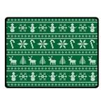 Ugly Christmas Fleece Blanket (Small)