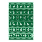 Ugly Christmas Shower Curtain 48  x 72  (Small)