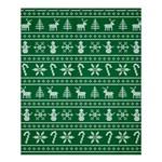Ugly Christmas Shower Curtain 60  x 72  (Medium)