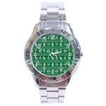 Ugly Christmas Stainless Steel Analogue Watch
