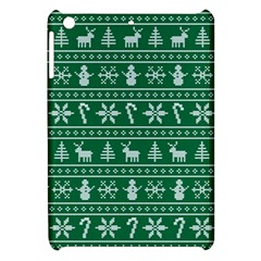 Ugly Christmas Apple Ipad Mini Hardshell Case by Onesevenart